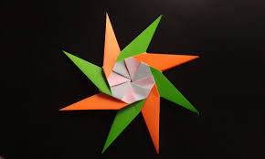 how to make a paper christmas star origami youtube
