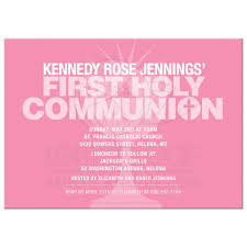 communion invitation typography pink communion cup holy communion invitation