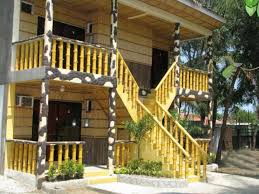 captivating bamboo house design and floor plan also attractive