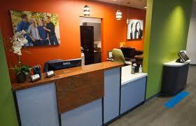 Front Desk Reception Nalchajian Orthodontics Clovis Ca Dental Office Reception Front