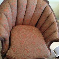 How To Reupholster Armchair How To Upholster A Channel Back Chair Hometalk