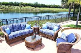 Cushions For Outdoor Furniture Replacement by Replacement Cushions For Outdoor Patio Furniture Image Of Blue