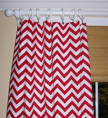 Pink Chevron Curtains And White Kitchen Curtains Chevron The Best Ideas And