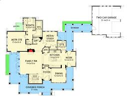 detached garage floor plans cedar cottage with detached garage 16808wg