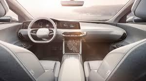 futuristic cars interior lucid motors u0027 luxury electric car with 400 mile range coming in 2018