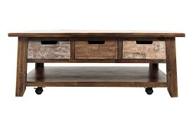 Coffee Tables With Drawers by Mastered Cocktail Table With Drawers