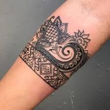 master tattoo indonesia stephanie stiletto thigh band tattoo indonesia indonesian batik