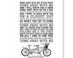 What To Write On A Wedding Invitation Bicycle Wedding Etsy