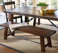 fresh dining table bench seat with interesting design dining table