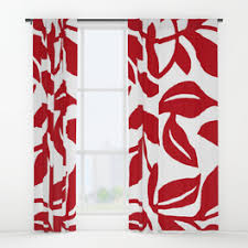 leafpattern window curtains society6