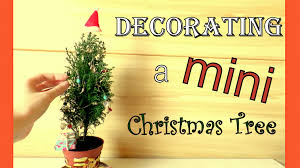 decorating a mini christmas tree cute diy tiny ornaments by