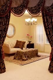 Black Curtains With Valance Royal Black Swag Valances Curtain Draperies 100