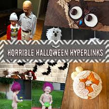 horrible halloween hyperlinks