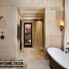 Contemporary Bathroom Tile Design Ideas by Bathroom Modern Bathroom Design With Curved Shower Door And