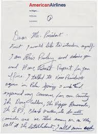 elvis presley u0027s letter to president richard nixon national archives