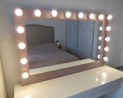 hollywood mirror with light bulbs xl hollywood vanity mirror 43 x 27 makeup mirror