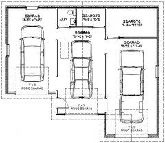 size of a 3 car garage 1 car garage dimensions great pictures 3 two car garage size