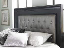 bling bedroom set in midnight black by samuel home