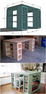 Pictures Of Craft Rooms - creative ideas diy modern craft table modern crafts table