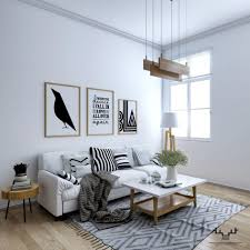 home design 23 white and wood scandinavian living room design with