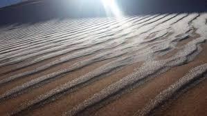 unbelievable photos show freak snowfall in the sahara desert others