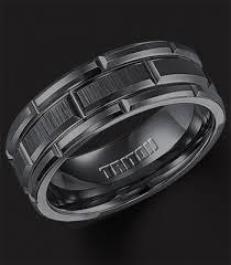 mens black tungsten wedding bands tungsten carbide wedding bands