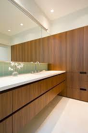 mid century modern vanity bathroom contemporary with ann sacks
