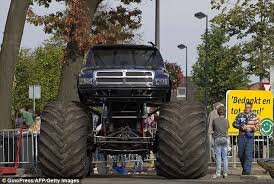 dutch monster truck ploughs audience killing adults