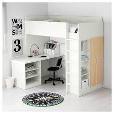 Dresser Desk Combo Ikea Stuva Loft Bed With 2 Shelves 2 Doors White Ikea
