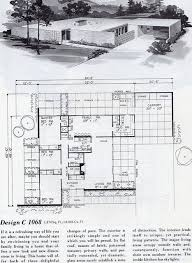 Best Mid Century Modern House Plans Images On Pinterest - Mid century modern home design plans