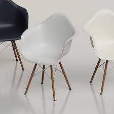 Eames Plastic Armchair Daw 3d Eames Plastic Daw Armchair High Quality 3d Models