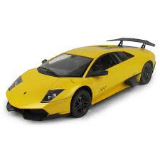 rc lamborghini murcielago rastar rc lamborghini murcielago lp670 4 car yellow rc cars