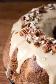 Cake Recipes Thanksgiving Apple Bundt Cake With Caramel Glaze Recipe Caramel Glaze Recipe
