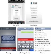 How Do Deaf Blind Communicate Hims Chat Ios App For Deaf Blind Communicator Frontier Computing