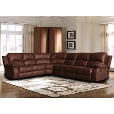 classic oversize and overstuffed corner bonded leather sectional