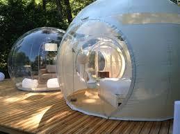 chambres bulles nuit insolite dans une bulle transparente week end en amoureux