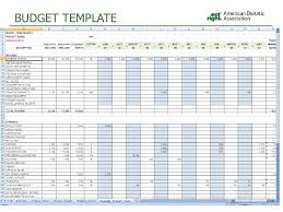 training budget template budget template free