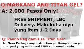 titan gel philippines 0926 4129 745 how to order titan gel