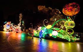 electric light parade disney world disney parks after dark magic kingdom park s main street electrical