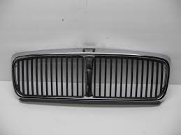 jaguar grill 1988 1994 jaguar xj6 chrome grill sorround painted insert mesh