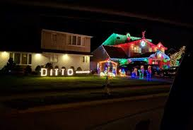 lazy christmas lights when your neighbors go all out but you take the lazy option
