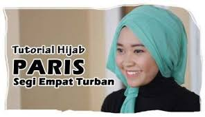 tutorial hijab turban untuk santai tutorial hijab paris segi empat turban square scarf hijab tutorial
