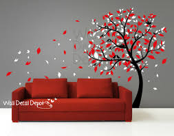 vinyl tree wall decals wallartideas info