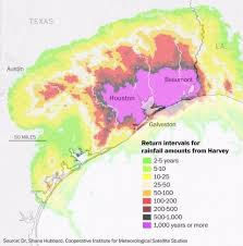 houston event map harvey is a 1 000 year flood event unprecedented in scale the