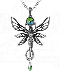 fairy jewelry necklace images Alchemy gothic the green goddess fairy pendant necklace jpg