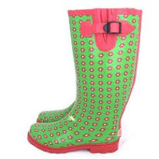 womens gumboots australia sometimes gumboots are necessary oh and i polka dots