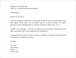 interview thank you letter template thank you letter u2013 all form