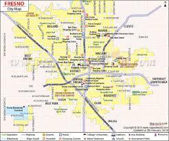 map of fresno fresno map fresno california map
