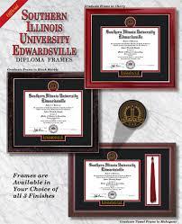 of illinois diploma frame southern illinois edwardsville diploma frames