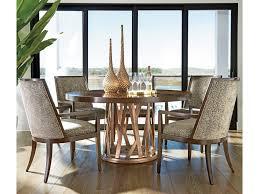 lexington zavala six piece dining set with horizon round table